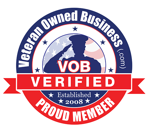 Verified Venteran Owned Business Badge
