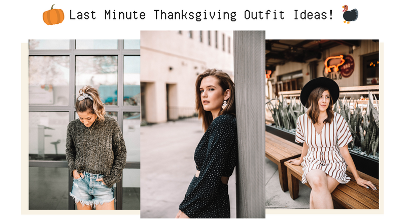 Last Minute Thanksgiving Outfits! 🌿