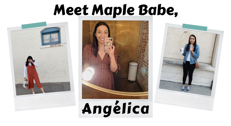Meet Maple Babe, Angelica! 💻