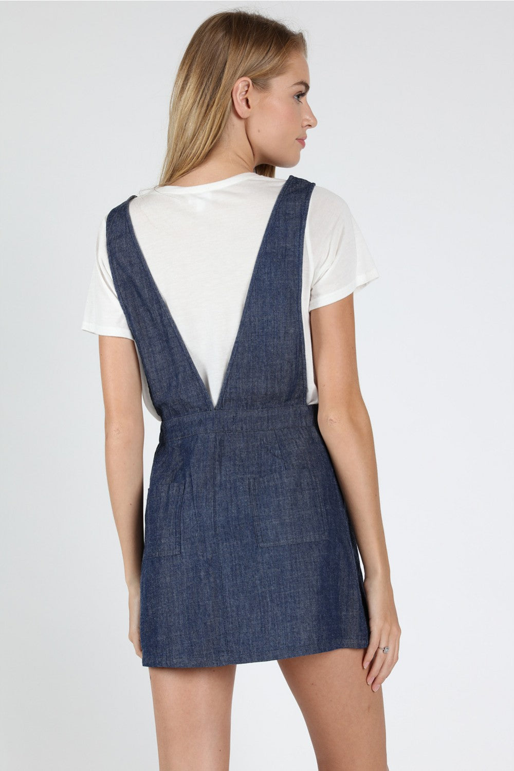 School Girl Denim Dress