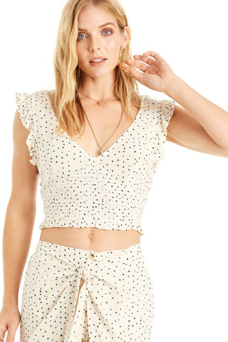 Moon Shadow Crop Top