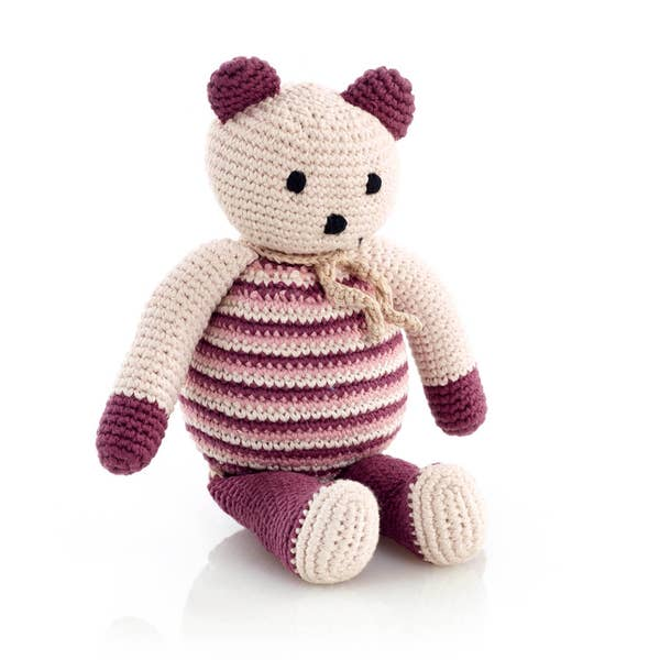 Kahaniwalla crochet purple bear