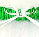 college themed wedding garters