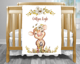 baby gift blanket personalized