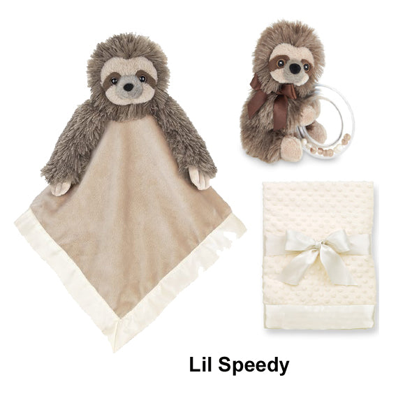 Bearington Lil Speedy baby sloth diaper cake