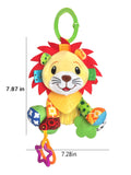 Crib Critters lion crib toy