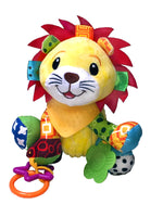 Crib Critters Lion Hanging Crib Toy - Stroller Toy