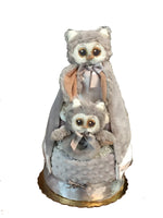 Bearington Owlie diaper cake (neutral gender)