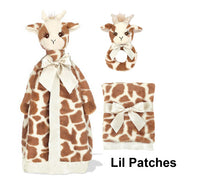 Bearington Lil Patches giraffe diaper cake
