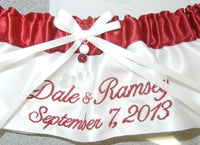 Personalized Wedding Garter