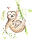 baby sloth blanket sloth theme
