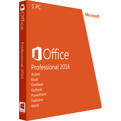 Microsoft Office/Word Professional 2016 (Instant)
