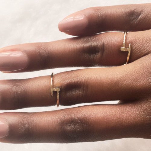ADRIENNE Ring Duo - Gold