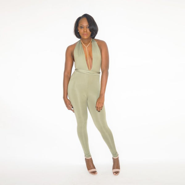RIOS Jumpsuit - Tea Green