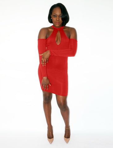 TONI Keyhole Dress