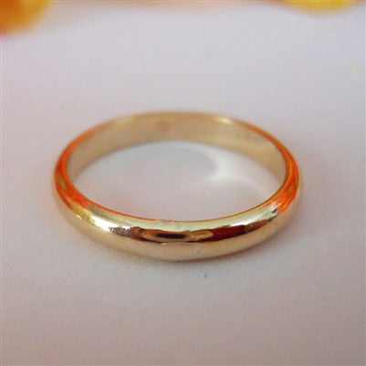 2.5mm Domed Band in 14K Gold Filled