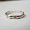 2.5mm Hammered Band