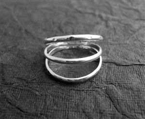 3 Band in Sterling Silver