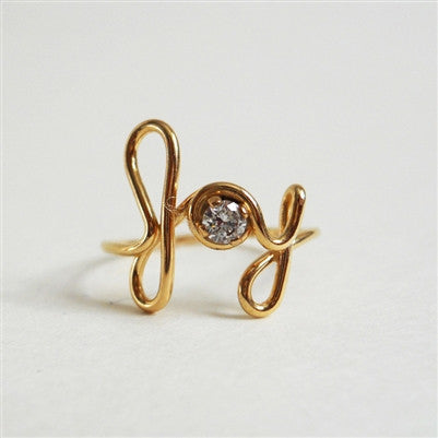 JOY RING WITH SWAROVSKI CRYSTAL