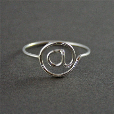 @ Ring in Sterling Silver