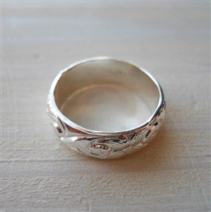 Heavy Pattern Ring