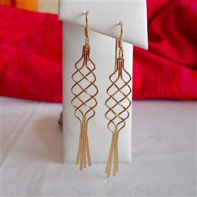 Braid Dangle Earring