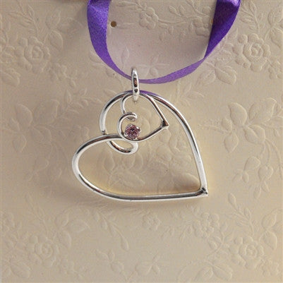 MOTHERS HEART PENDANT