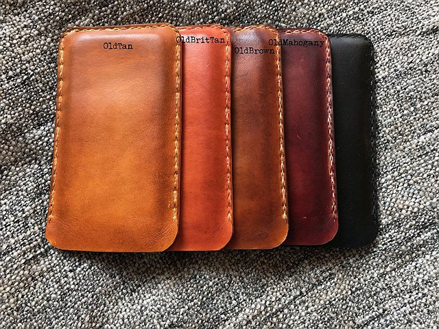 iPhone Leather Sleeve - Kaseta