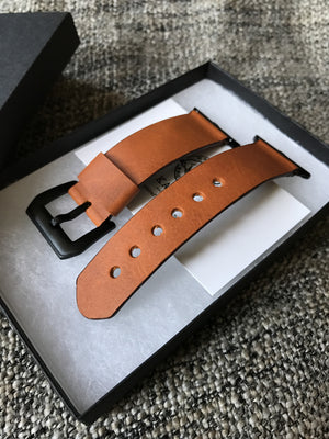 38mm apple band apple watch strap,  apple leather strap Or-Tan,  AppleWatch strap for 38 42