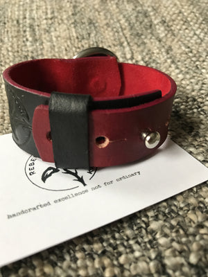 Leather Bracelets 'Rebel-Closure' - Kaseta