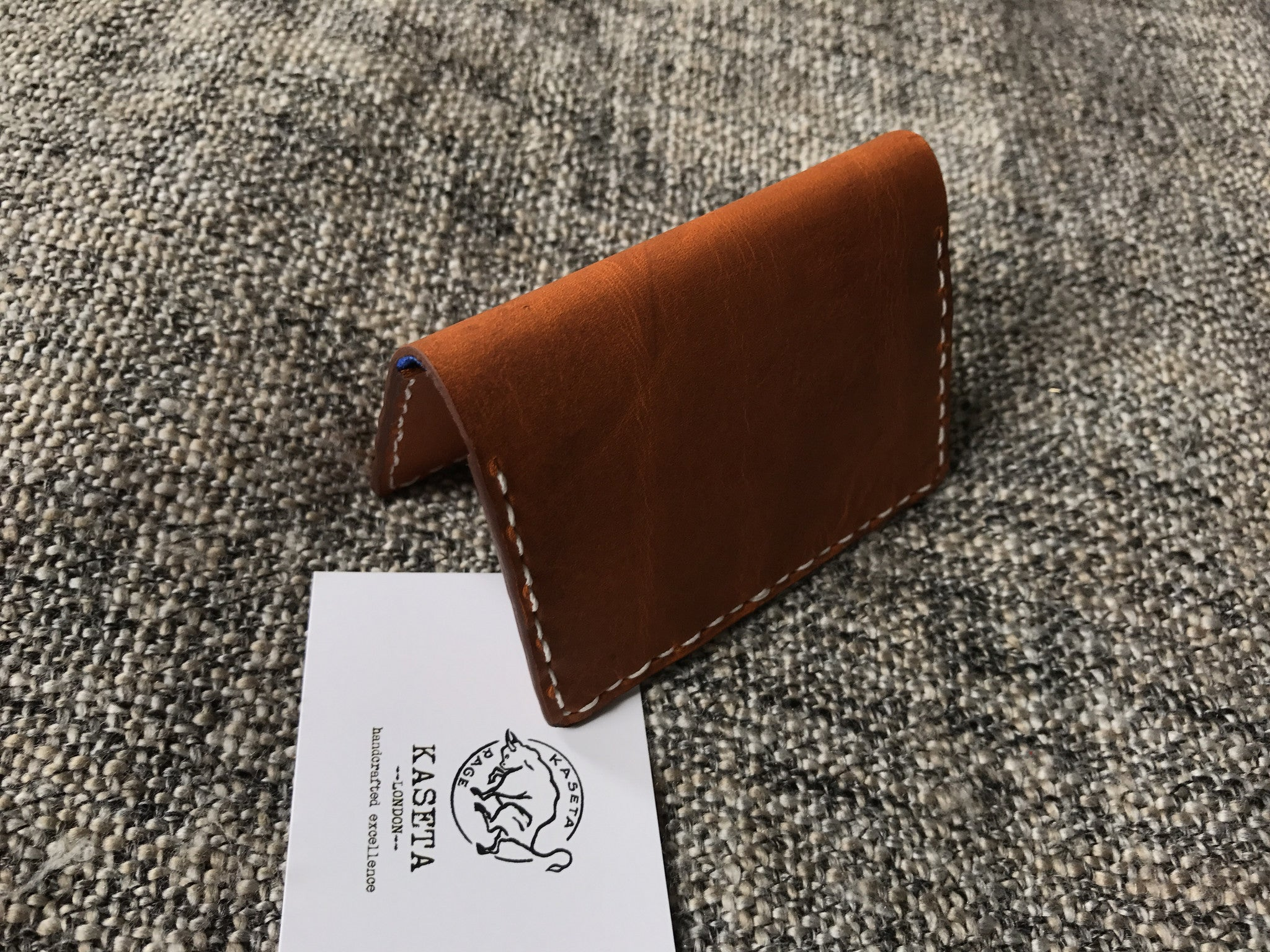 stylish card wallet brown