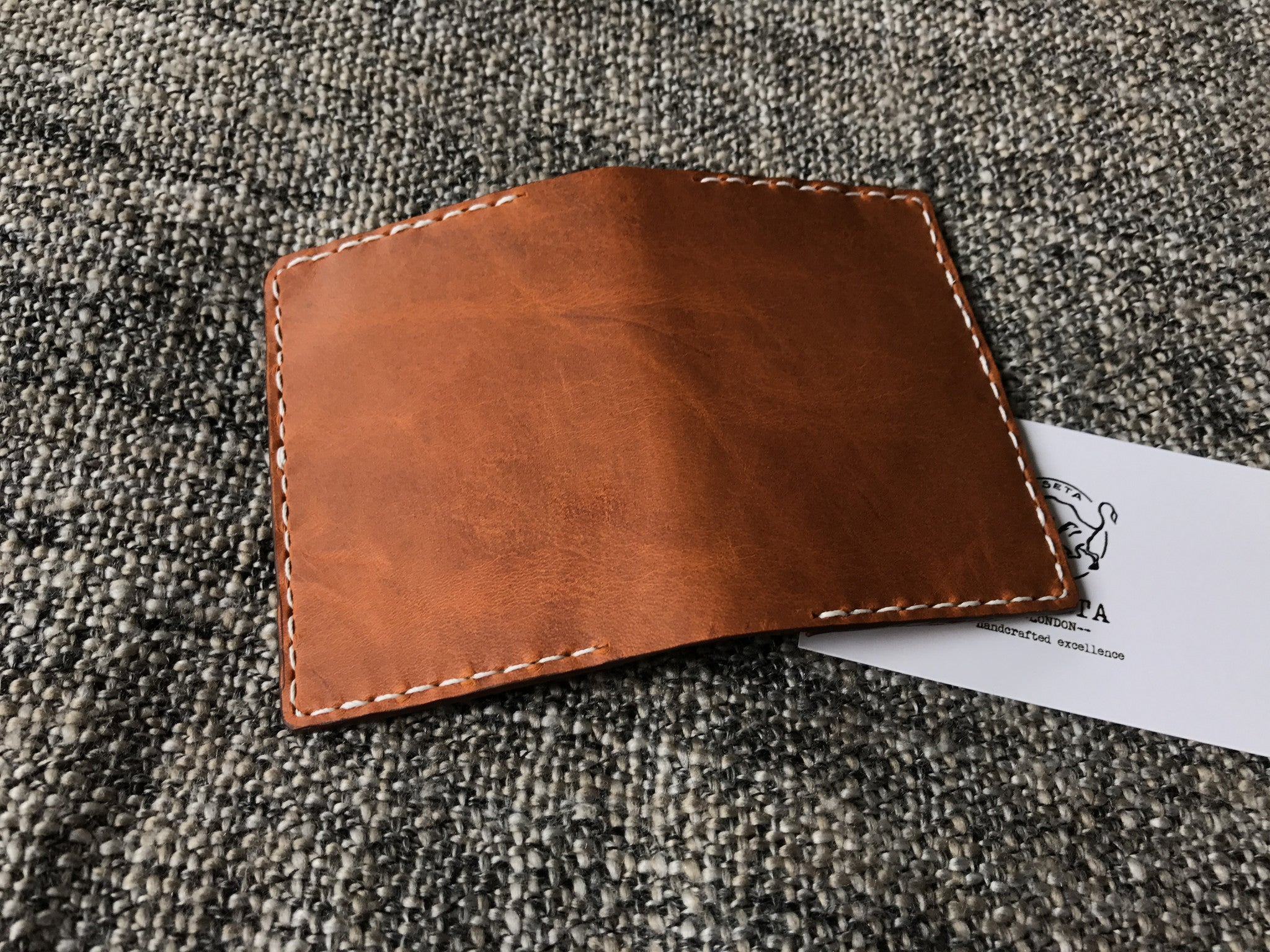 card wallet, leather oyster holder