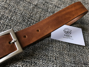 soft leather belt, full grain belt,  Ledergürtel