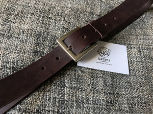 läderbälte, cinturón, leather belt