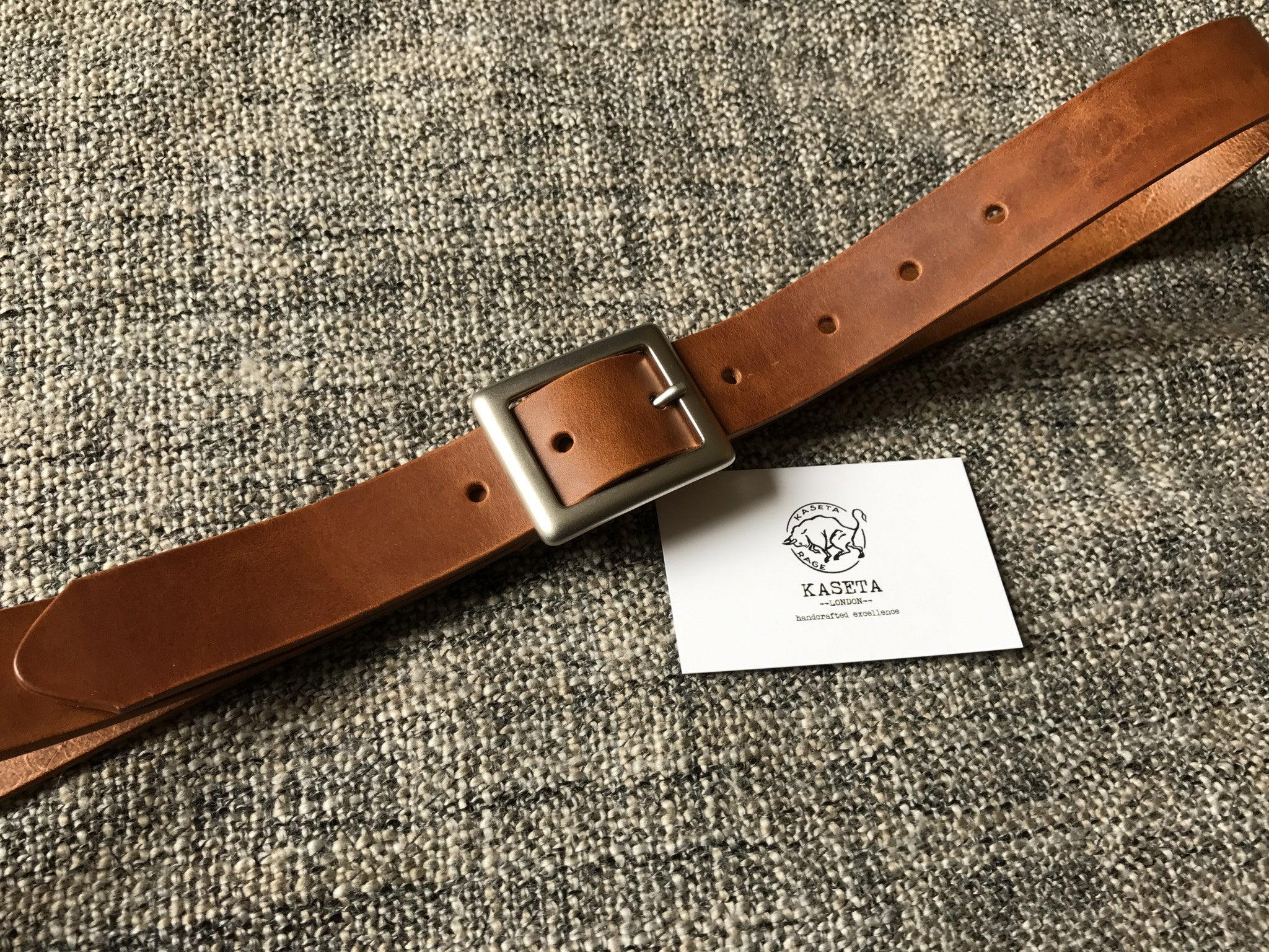 brown leather belt, hand made belts