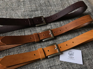 leather belts by kaseta