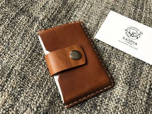 gift for him leather cardholder