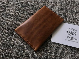 brown card holder / wallet