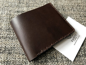 Leather men's wallet - Kaseta