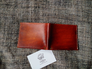 Wallet minimalist 'Rage' Brown - Kaseta