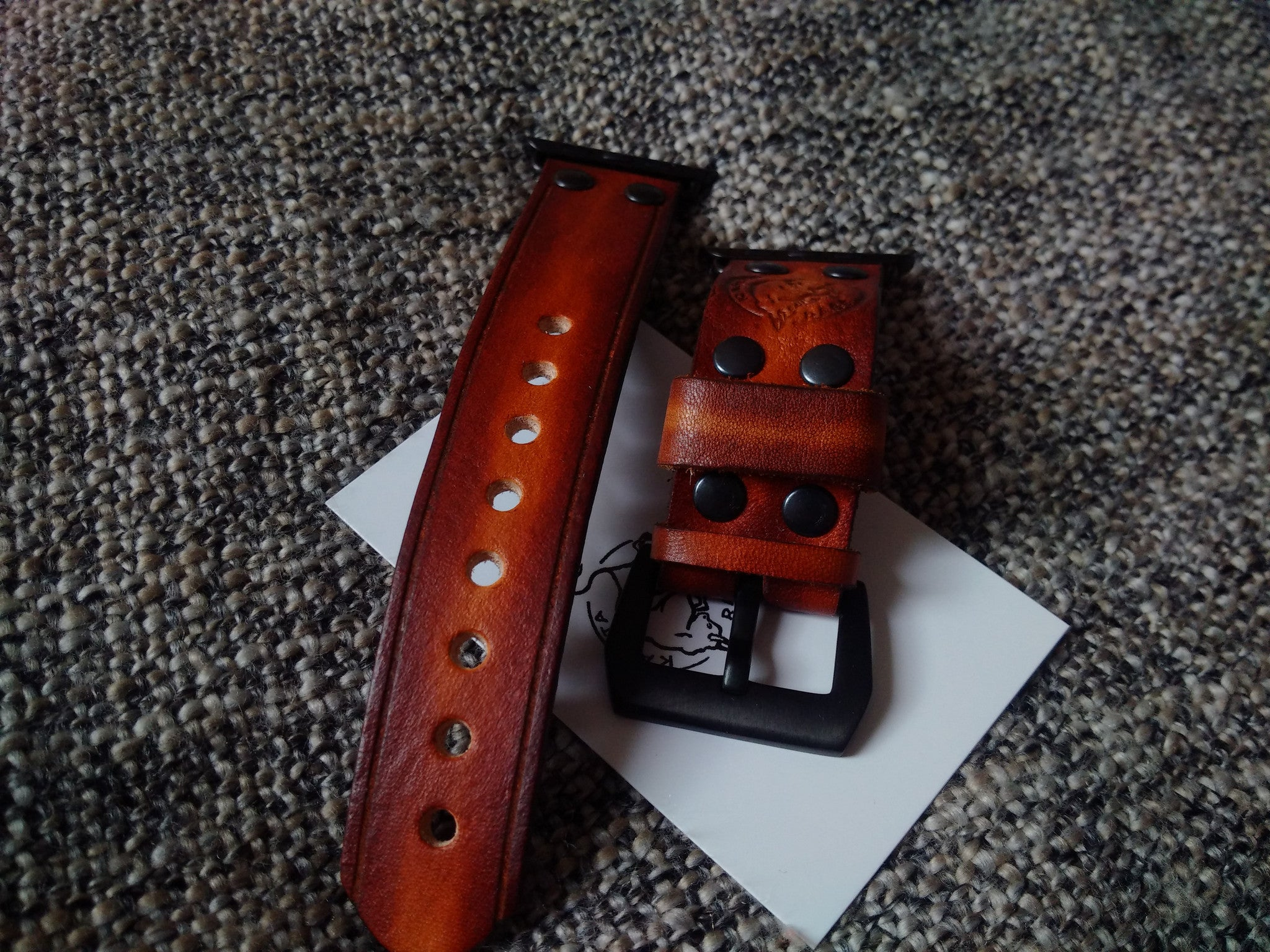 genuine leather watch straps bracelets for apple watch 42
