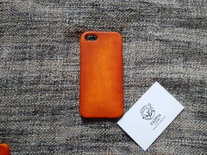leather phone case for iphone 5 5s old tan, aged looking case leather case