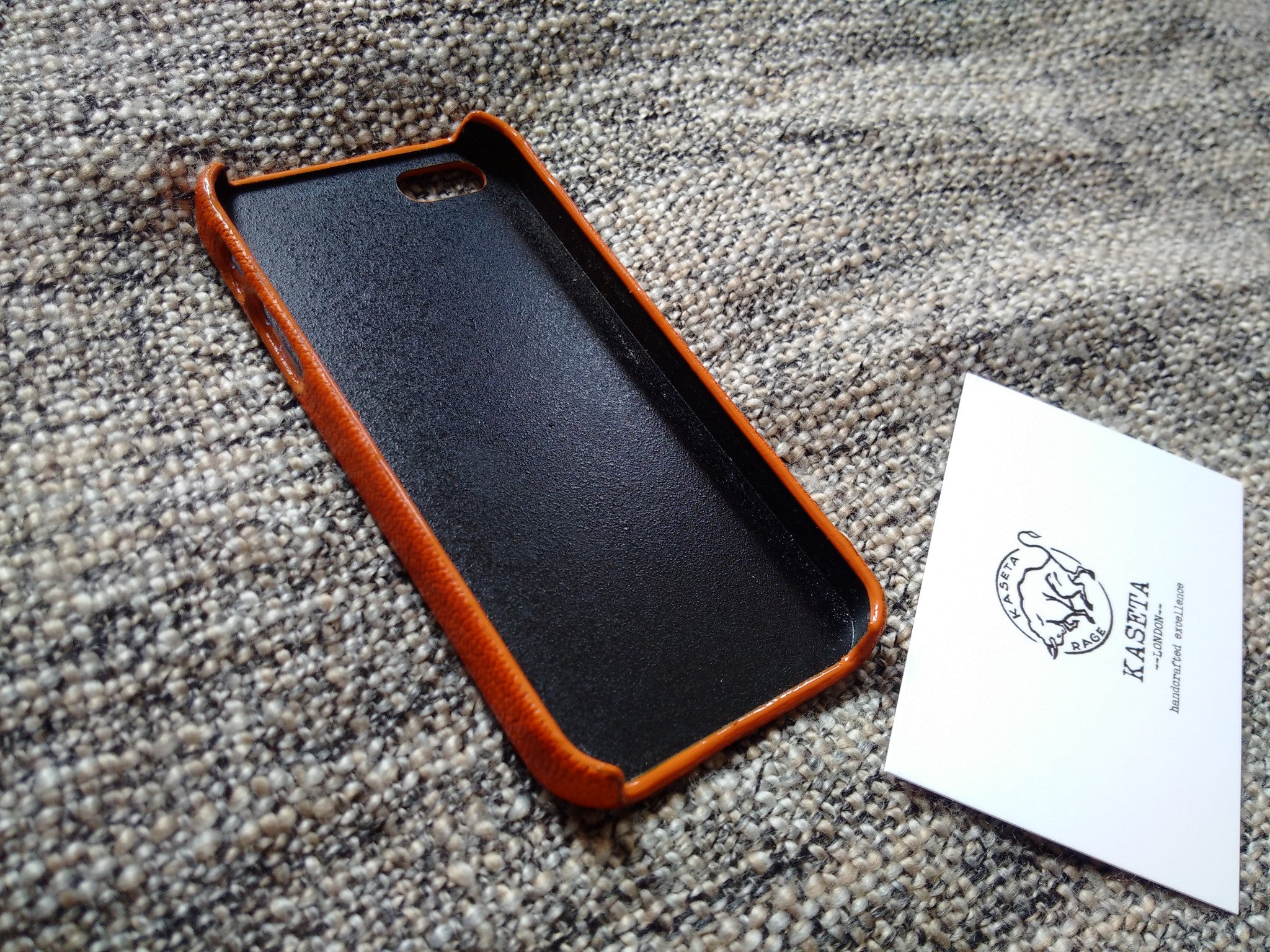 inner side of iphone se leather case