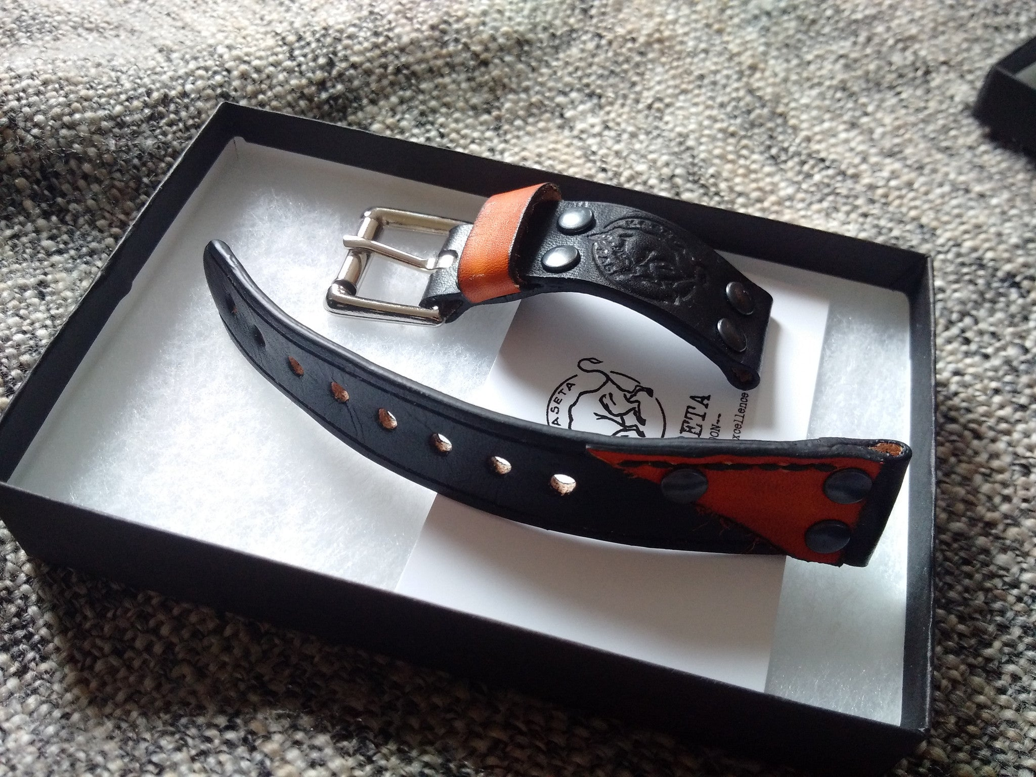 watch band men's black