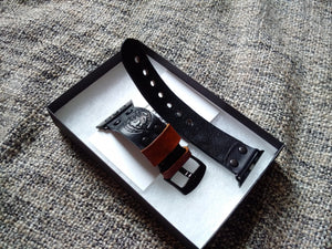 Leder Uhrenarmband apple watch 38
