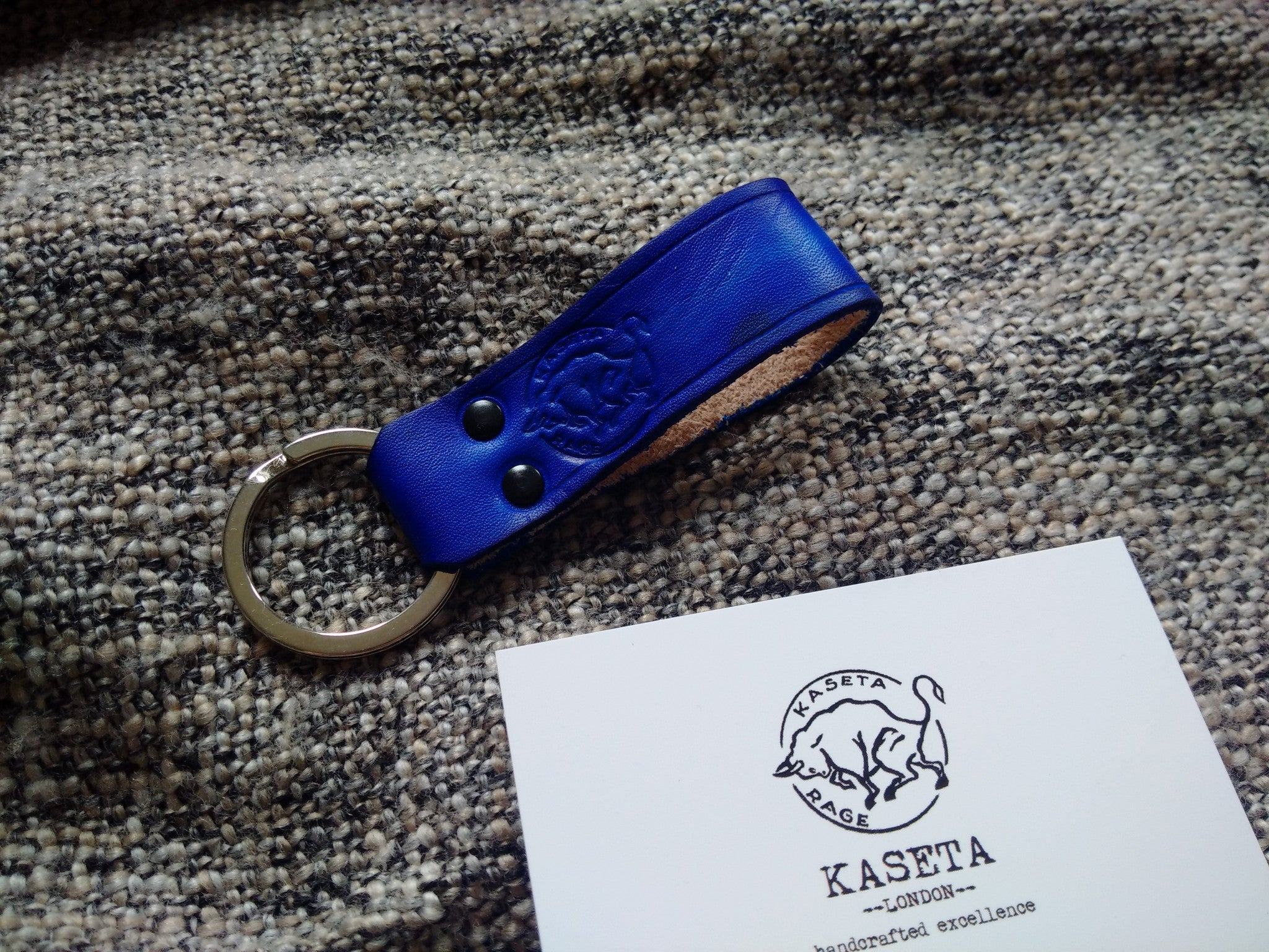 Leather Key Band 'OldNavy' - Kaseta