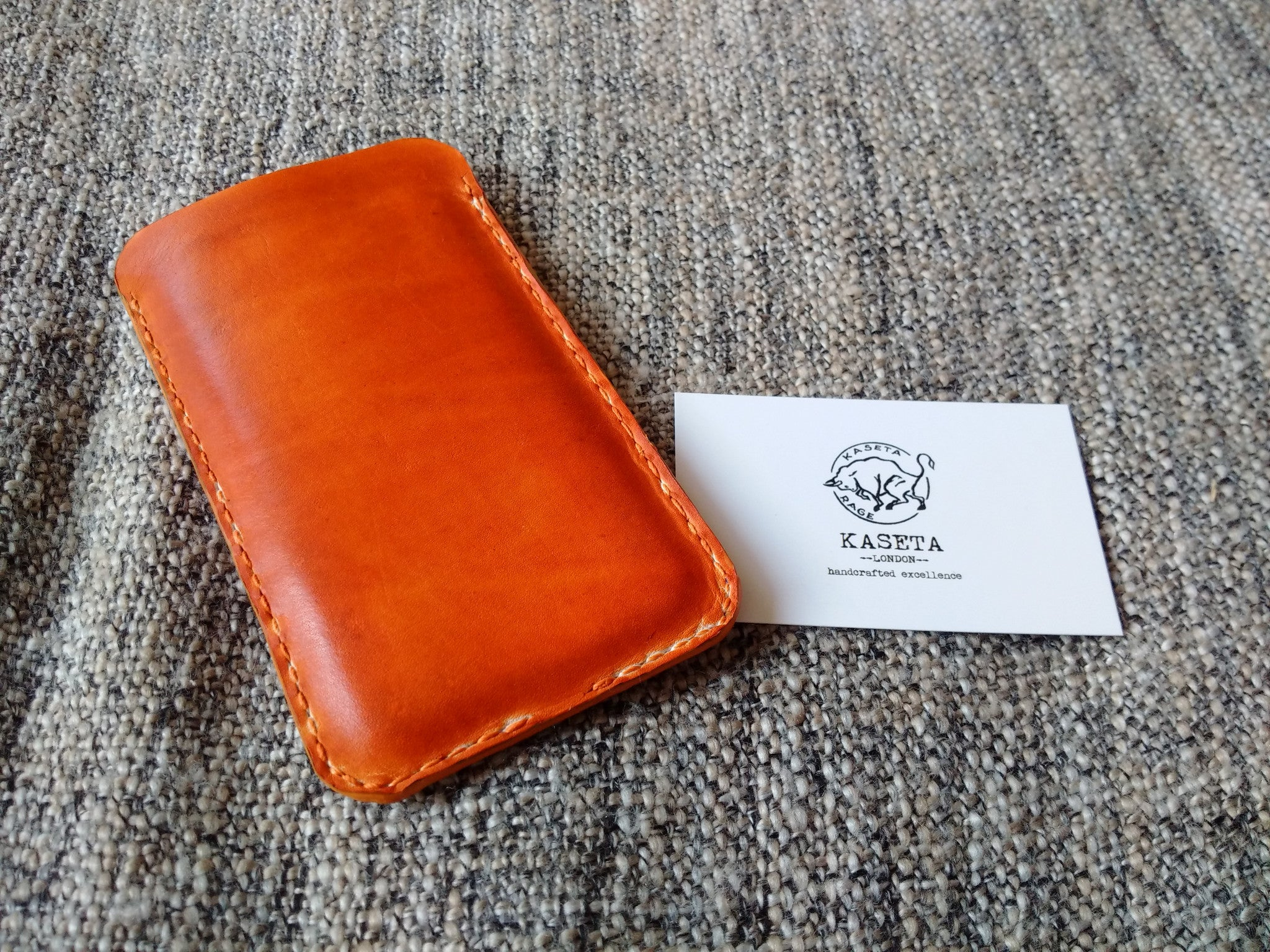 soft leather pouch  sleeve for iphone  läderfodral iphone 7