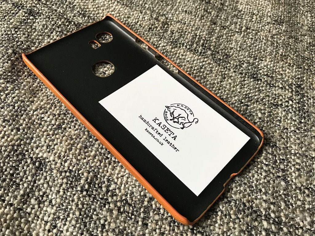 Google Pixel 3, Google Pixel 2 XL Leather Case 'OldTan' - Kaseta
