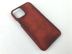 iphone 11 pro max leather cover case shell leather
