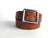 brown leather man's woman's belt - kaseta